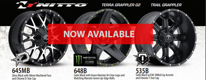 Tire / Wheel Packages Available