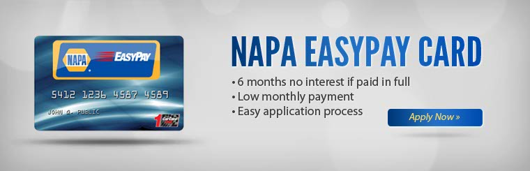 We offer Napa Easy Pay Financing at Belhaven Tire & Auto Center in Charlotte, NC 28216